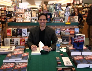 Returning on Black Friday: Author David Fiorazo back at Book World in Iron Mountain, MI