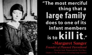 Margaret Sanger quote