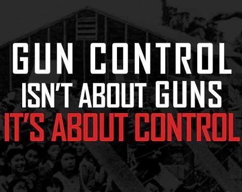 not guns, control