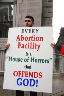 every abortion clinic offends God