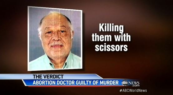 killing babies with scissors