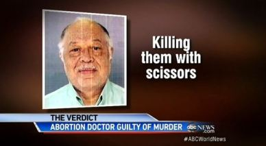 killing babies with scissors