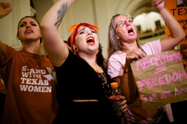 abortion activists texas