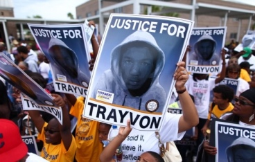 justice for trayvon SEIU