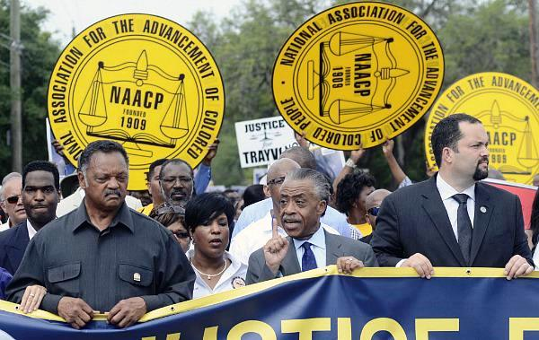Sharpton Jackson protest