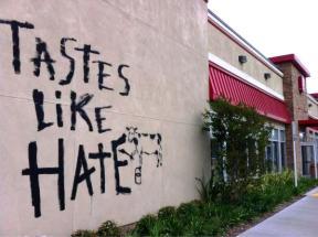 tastes like hate