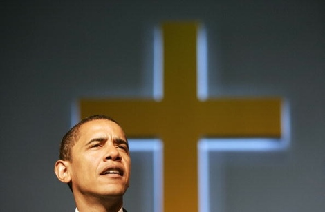 US Senator Barack Obama (D-IL) makes rem
