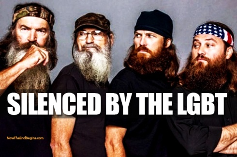 Phil Robertson silenced