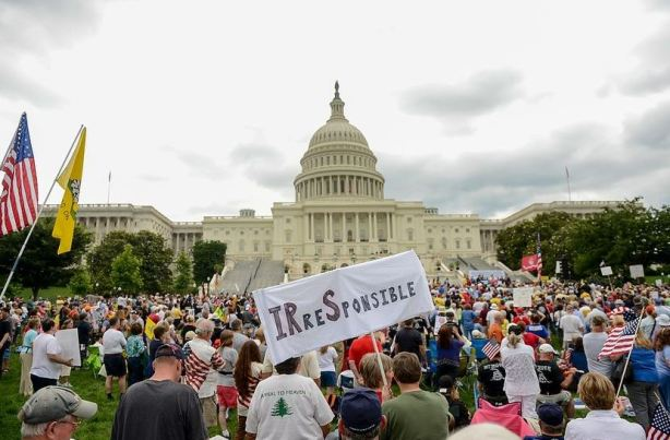 IRS tea party protest
